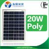 Comitato solare silicone monocristallino/policristallino (5W-15W-20W-25W-50W-75W-100W) Yy solare