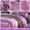 Jacquard Silk Satin pour Bedsheet Fabric