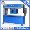 Máquina plana principal hidráulica do cortador da imprensa (HG-C25T)