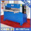 De hydraulische de vier-Kolom van de Hoge snelheid Flat-Bed Scherpe Machine van de Doek (Hg-B30T)