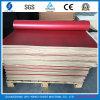Красный бежевый резиновый лист для пятки повелительниц высокой обувает подошву