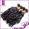 試供品のインドの女性の人間の毛髪の100%年のRemyの毛の拡張