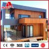 El panel de pared compuesto de aluminio de la capa de madera del grano PVDF
