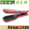 2016 professionista Steam Hair Straightener Comb Brush con Ceramic Heating