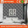 Papiers peints en cuir gris de texture avec adapté aux besoins du client
