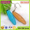 최신 판매 금속 합금 인도 사기질 기털 귀걸이 #21603