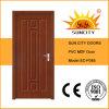 Nouvelle porte de chambre à coucher de PVC de conception (SC-P085)