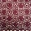 Tissu en nylon de lacet de crochet d'accessoires de vêtement