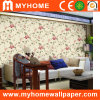 Papel de parede profundamente gravado real do PVC da decoração