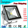 Proyección Distance 10-12meter 100W LED Floodlight