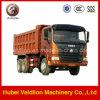 Movimentação do caminhão de descarga LHD de Shacman F2000 6*4
