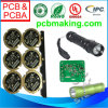 Base di alluminio Printed Circuit Board per Outdoor Hiking LED Flash Light Torch PCBA Parte Unit