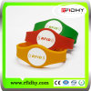 Sell caldo RFID Silicon Wristband per Party Event