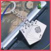 3D 선전용 Kirsite 부지깽이 모양 열쇠 고리