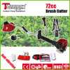 72cc Rotatable Handle Gasoline Brush Cutter com Anti-Vibration System