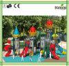 子供の城の主題の屋外の運動場浜の演劇装置(KQ50053A)