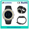 PU Strap를 가진 남자 Sport Watch Digital LED Display