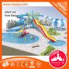 Cour de jeu de l'eau de fibre de verre de matériel de piscine pleine