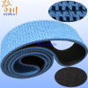 Schwarzes und Blue Chip Baseband Surface Pattern Conveyor Belt Klipp Bottle Writers Tragen-Resisting Rubber Transmission Belt
