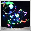 Natal ao ar livre/interno da decoração/luz colorida da corda do diodo emissor de luz esfera dos feriados