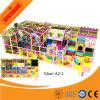 Спортивная площадка с мягкими играми, бассеин шарика, скольжение для малышей (XJ1001-BD28)