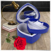 Handgemachter Zoll druckte aufgefüllte Schmucksache-Ring-Kästen