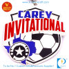 Médaille d'argent faite sur commande d'invitation du football/football des bons prix