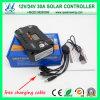 セリウムのRoHS Approved 30A 12/24V LCD USB Solar Controllers (QWP-VS3024U)