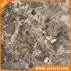 Azulejo de suelo de cerámica del cuarto de baño de piedra oscuro profundo de la mirada