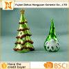 Placcaggio del supporto di candela di ceramica dell'albero di Christams, decorazione di Christma