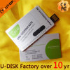 Kundenspezifisches Firmenzeichen-verschiebbarer Metallkarte USB-Flash-Speicher (YT-3106L)