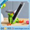 Support créateur de téléphone mobile de grenouille de résine