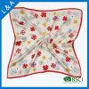 Реальные Silk цветки сатинировки в малых квадратных шарфах, шарф Stewardess