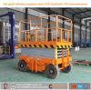 Chariot hydraulique manuel mobile à table élévatrice de ciseaux