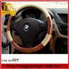 Cubierta auto del volante del cuero genuino de la cubierta Heated del volante