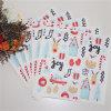 Serviette colorée jetable de papier d'imprimerie pour Noël