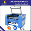 Laser en soie Cutting Machine de Rubber Leather Fabric Non-Metal 100W CO2