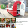 Quiosco al aire libre del alimento de la venta del carro del helado