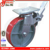 8 Inch PU Scaffold Caster mit Top Plate