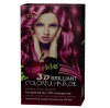 cosmético da tintura de cabelo da cor do cabelo 3D