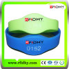 Loyalty Eventのための方法Polyester RFID PVC Wristband