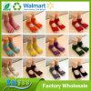 Fabricante Fingerless colorido de encargo al por mayor del calcetín de Pilates de la yoga