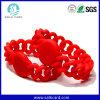 Braccialetto di frequenza ultraelevata RFID Chamilia di colore rosso ISO14443A/B