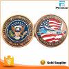 Liberare la moneta commemorativa del ricordo degli S.U.A. dell'oro dell'oggetto d'antiquariato del metallo dello smalto di disegno