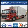 Carro refrigerado grado del transporte -25 del alimento de Foton 4X2
