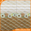 Azulejo de cerámica de la pared de la red del amarillo del girasol de la decoración del cuarto de baño para Iraq