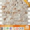 Marmo Decorazione della parete di mosaico di pietra (S1424010)