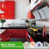 標準的で贅沢なデザイン赤い台所家具