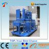 Aceite usado que recicla el tipo purificador del aceite lubricante del vacío
