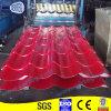 Rote vorgestrichene galvanisierte Stahlfliesen